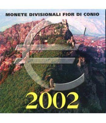 Cartera oficial euroset San Marino 2002  - 1