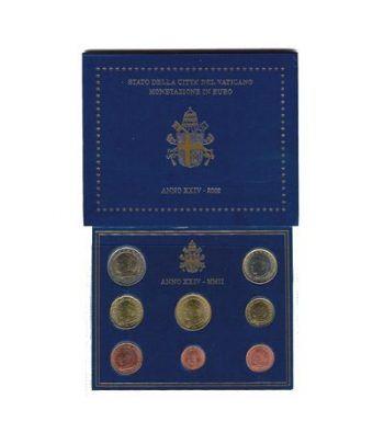 Cartera oficial euroset Vaticano 2002  - 2