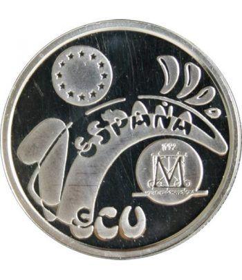 1 ECU. Madrid Capital Europea de la Cultura 1992  - 4