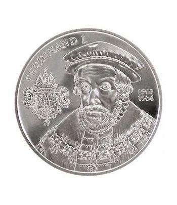 moneda Austria 20 Euros 2002 El Renacimiento (estuche proof).  - 2