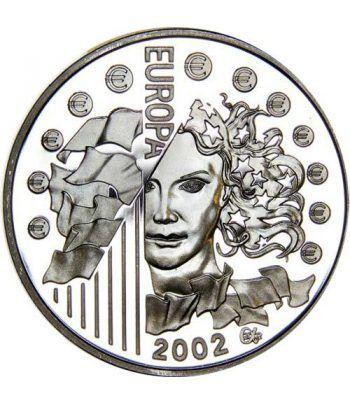 Moneda Francia 1 1/2 euro 2002 Europa  - 1