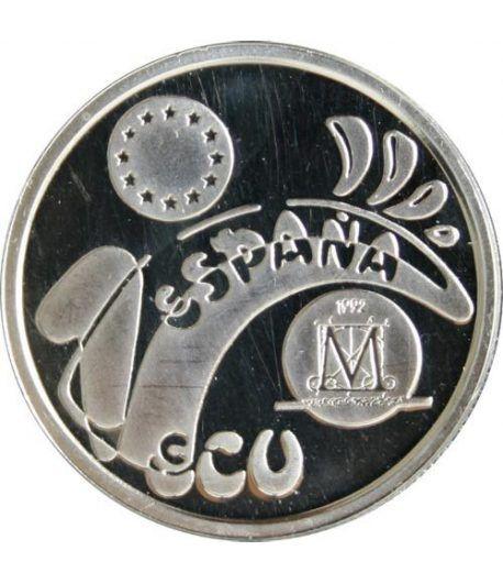 1 ECU. Madrid Capital Europea de la Cultura 1992  - 1