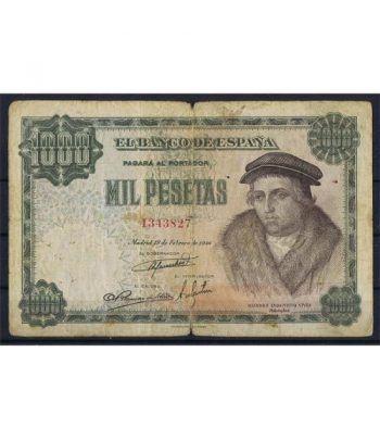 (1946/02/19) Madrid. 1000 Pesetas. MBC-. Serie 1343827  - 1