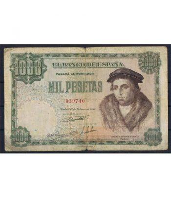 (1946/02/19) Madrid. 1000 Pesetas. MBC-. Serie 039740  - 1