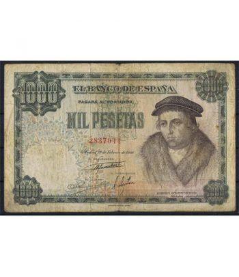 (1946/02/19) Madrid. 1000 Pesetas. MBC-. Serie 2837044  - 1