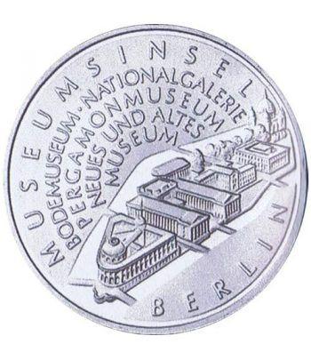 moneda Alemania 10 Euros 2002 A. Isla de los Museos.  - 1