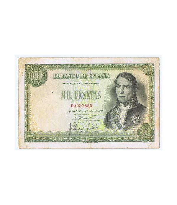 (1949/11/04) Madrid. 1000 Pesetas. MBC. Serie 05957889  - 1