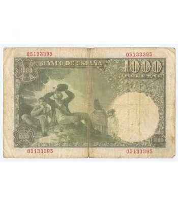 (1949/11/04) Madrid. 1000 Pesetas. MBC-. Serie 05133395  - 4