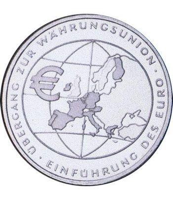moneda Alemania 10 Euros 2002 F. Introducción del Euro.  - 1