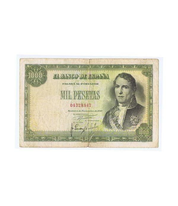 (1949/11/04) Madrid. 1000 Pesetas. MBC-. Serie 04328847  - 1