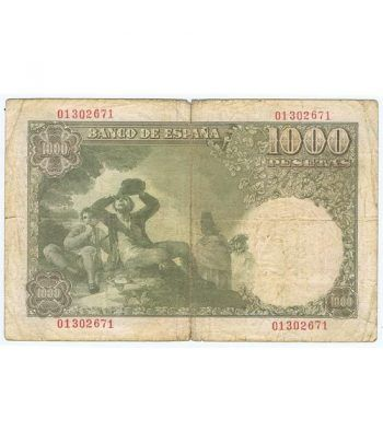 (1949/11/04) Madrid. 1000 Pesetas. BC+. Serie 01302671  - 4