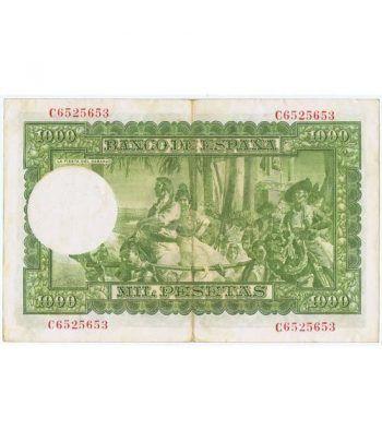 (1951/12/31) Madrid. 1000 Pesetas. EBC. Serie C6525653  - 4