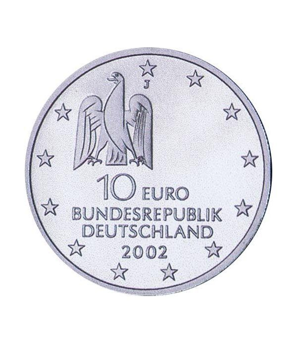 moneda Alemania 10 Euros 2002 J. Documenta.  - 4