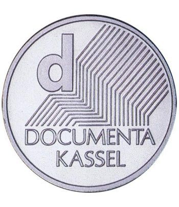 moneda Alemania 10 Euros 2002 J. Documenta.  - 1