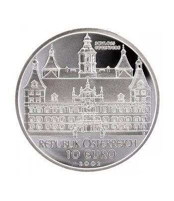 moneda Austria 10 Euros 2002 (Castillo de Eggenberg).  - 1