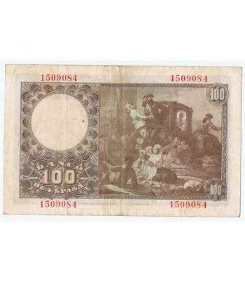 (1948/05/02) Madrid. 100 Pesetas. MBC+. Sin Serie 1509084  - 4