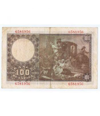 (1948/05/02) Madrid. 100 Pesetas. MBC. Sin Serie 6581956  - 4