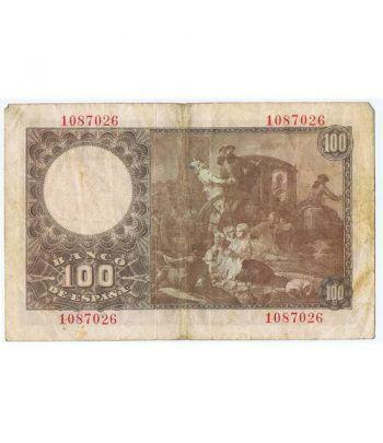 (1948/05/02) Madrid. 100 Pesetas. MBC. Sin Serie 1087026  - 4