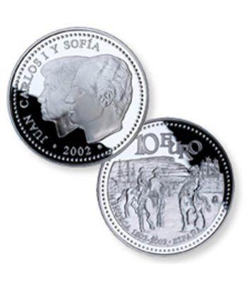 Moneda 2002 Menorca. 10 euros. Plata.  - 2