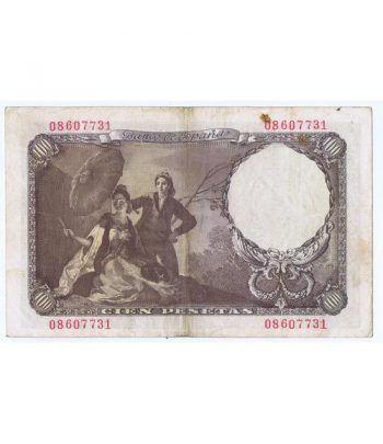 (1946/02/19) Madrid. 100 Pesetas. MBC. Sin Serie 08607731  - 4