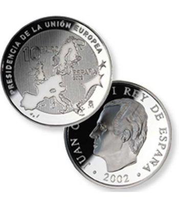 Moneda 2002 Presidencia Unión Europea. 10 euros. Plata.  - 2