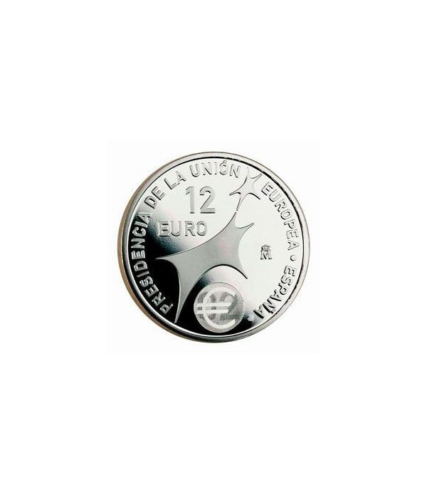 Moneda conmemorativa 12 euros 2002.  - 2