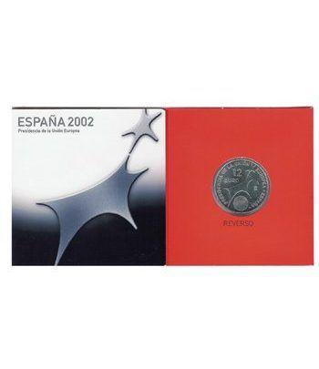 Cartera oficial euroset 12 Euros España 2002  - 1
