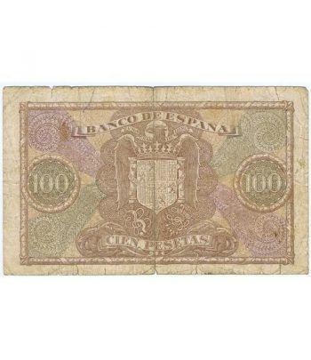 (1940/01/09) Madrid. 100 Pesetas. MBC-.  - 4