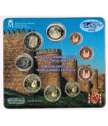 Cartera oficial euroset España 2019 (Emisión Berlín).  - 1