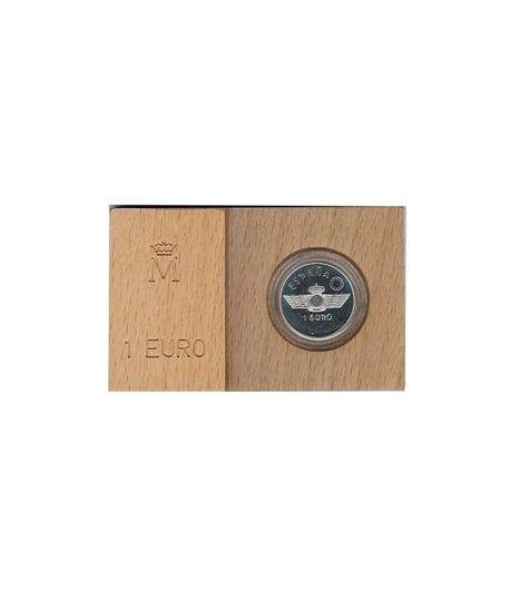 Moneda 1997 Aviación española. 1 euro. Plata.  - 2