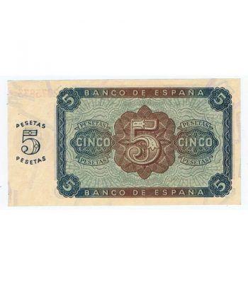 (1938/08/10) Burgos. 5 Pesetas. SC. Serie L2073833  - 4