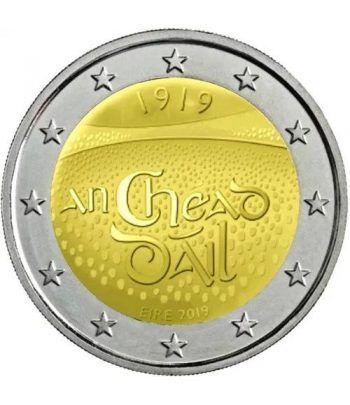 moneda conmemorativa 2 euros Irlanda 2019 Dáil Éireann.  - 2