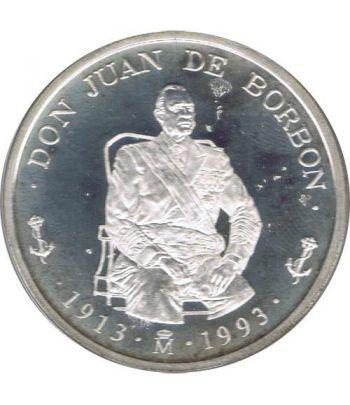 5 ECU. Serie Don Juan de Borbón 1993  - 2