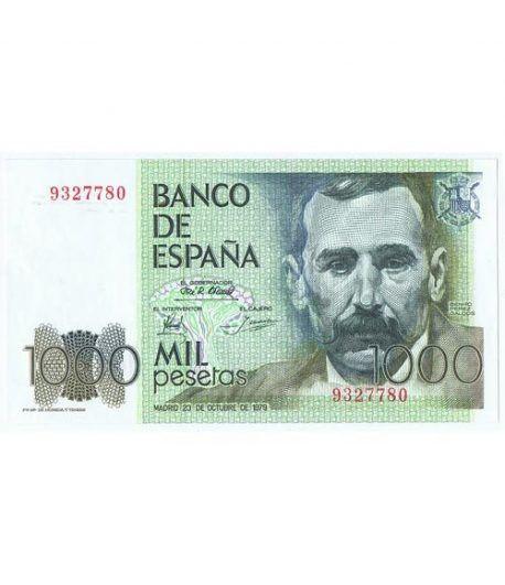 (1979/10/23) 1000 Pesetas. SC. Sin Serie 9327780  - 1