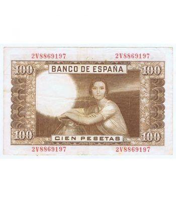 (1953/04/07) Madrid. 100 Pesetas. MBC.  - 4