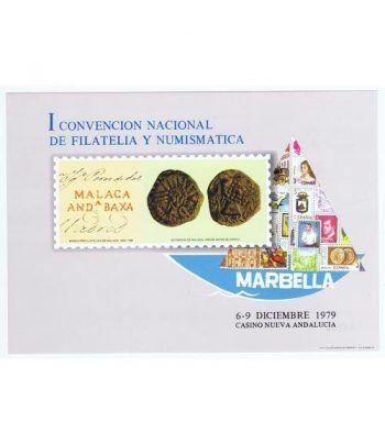 1979 I Convención Filatelia y Numismática Marbella.  - 2