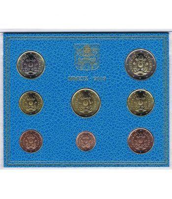 Cartera oficial euroset Vaticano 2019 escudo Papa Francisco.  - 1
