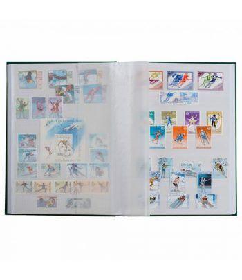 LEUCHTTURM Clasificador BASIC 16 hojas blancas. (23x30.5 cm) Clasificadores sellos - 1