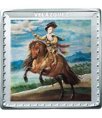 Moneda 2019 Museo del Prado. Velazquez. 10 euros. Plata  - 1