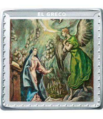 Moneda 2019 Museo del Prado. El Greco. 10 euros. Plata  - 1