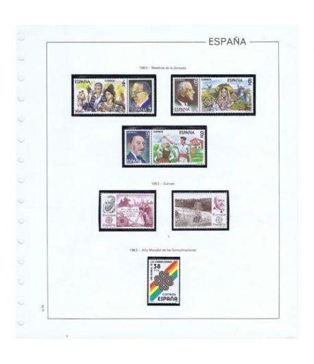 Colección Sellos de España 1982/2007.  - 1