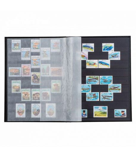 LEUCHTTURM Clasificador BASIC 16 hojas negras. (23x30.5 cm) Clasificadores sellos - 1