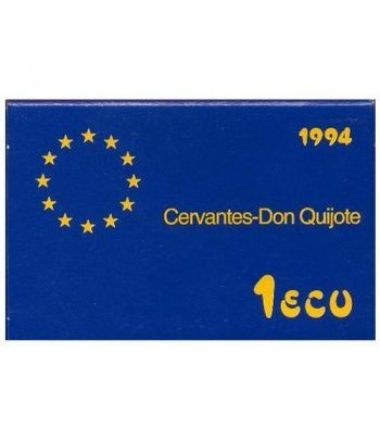 1 ECU. Serie Cervantes. España 1994  - 4