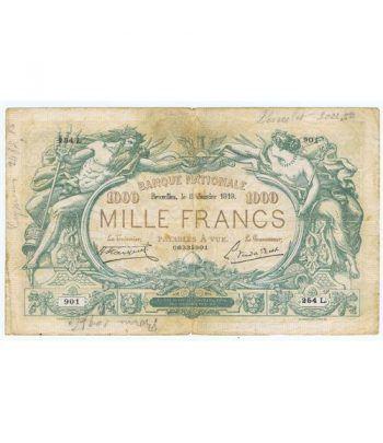 Belgica 1000 Mille Francs 1919. 06335901  - 1