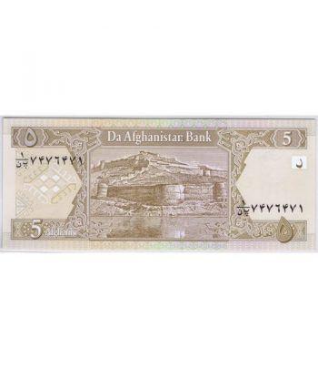 Afganistan 5 afghanis 2002  - 1