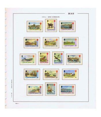 Colección Sellos de Isla de Man 1973/1995.  - 1