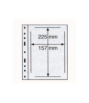 LEUCHTTURM 10 hojas Optima transparentes. 1 depart. ETB (docum.) Hojas Clasificadoras - 2