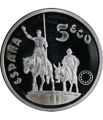5 ECU. Serie Cervantes. España 1994  - 2