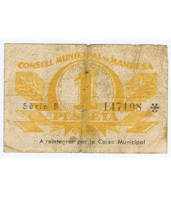 image: (1936/11/01) Santander. 10 Pesetas. BC. Serie 091791.