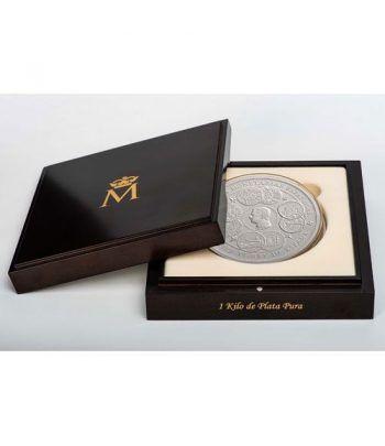 Moneda 2019 Unidades Monetarias 1 kilo de plata. 300 euros.  - 1